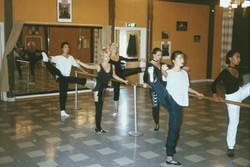 6.Balettexercis i balettsalen