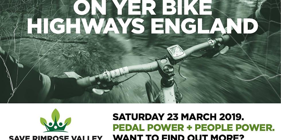 On yer Bike, Highways England!