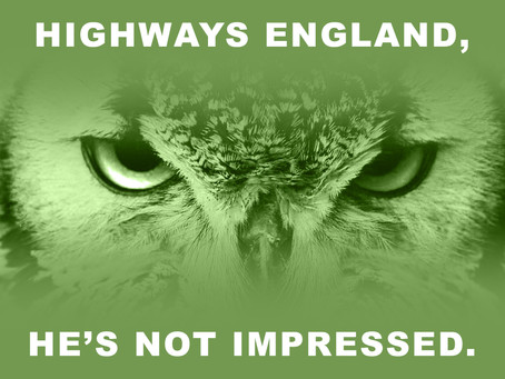 Latest Highways England Newsletter is simply more propaganda from the Government Agency