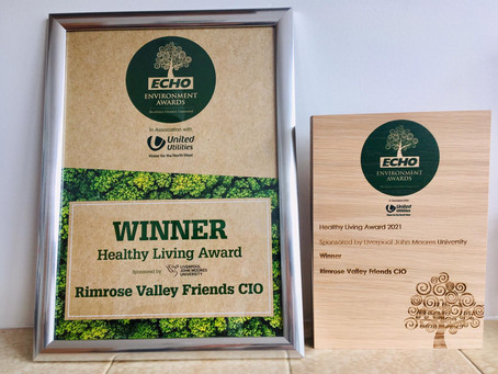 PRESS RELEASE: Park charity scoops top environmental award