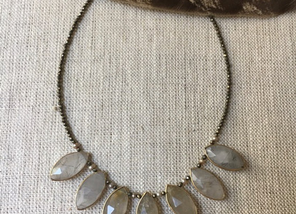 Ritulated Quartz Magic Necklace