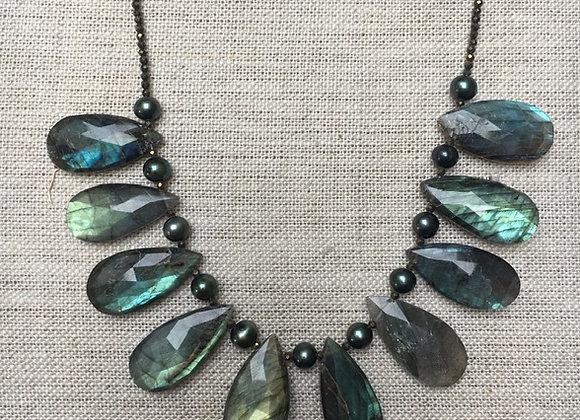 Labradorite YUM Necklace