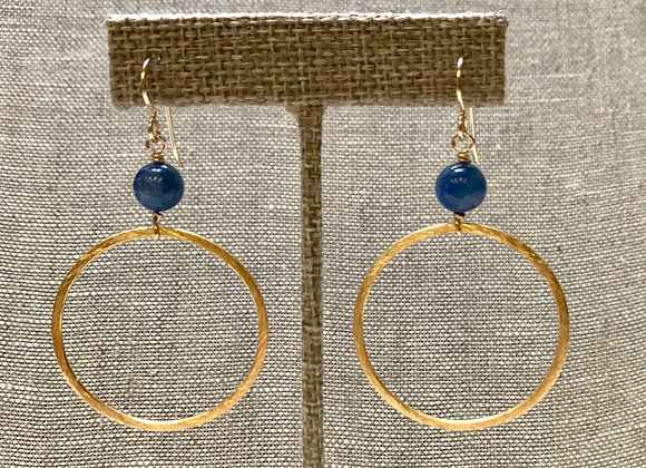 Kyanite Ring Earrings