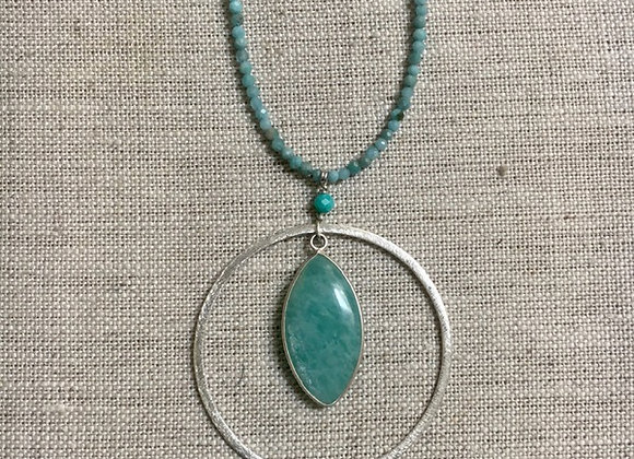 Amazonite Ripples Necklace