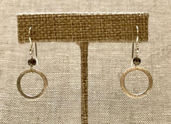 Pyrite Ring Earrings