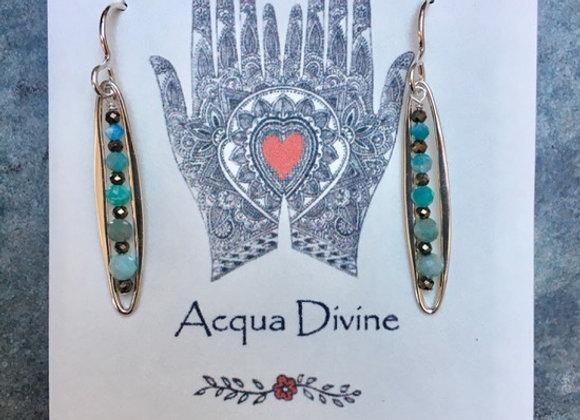 Amazonite Alignment Earrings