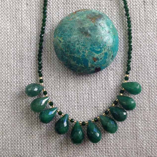 Raw Emerald Gorgeousness