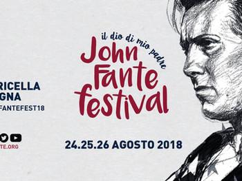 John Fante Festival - 24 t/m 26 augustus - Toricella Peligna
