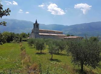 Een kerk voor een Engelse heilige in Abruzzo