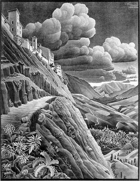 Castrovalva_(M._C._Escher)
