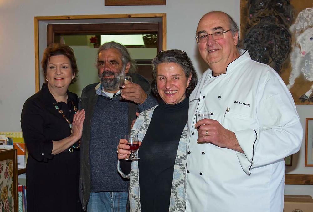 Emily, Nunzio, Manuela, Bob