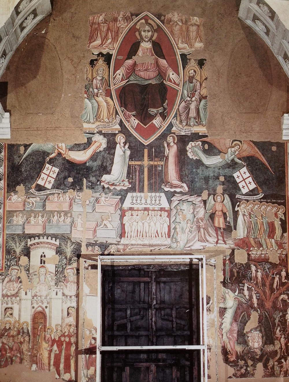 Fresco in S. Stefano in Soleto