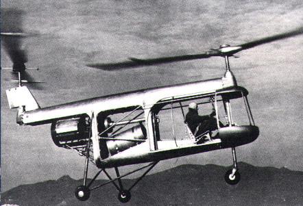 De PD4, ontworpen door Corradino D'Ascanio