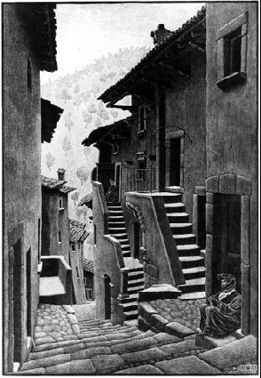 M.C. Escher, 1930