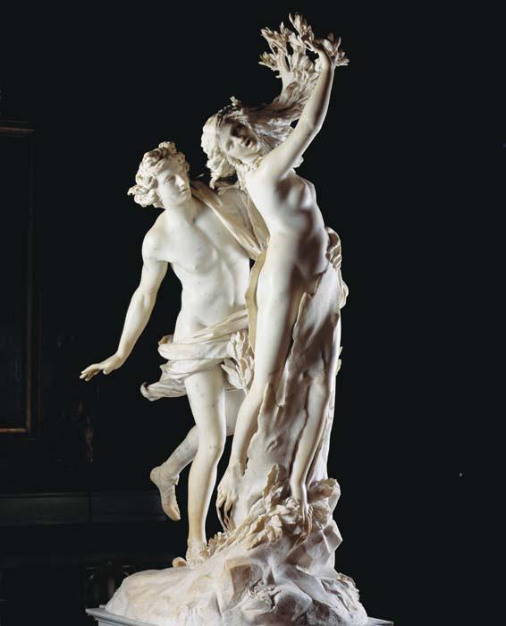 'Daphne en Apollo' van Bernini (Villa Borghese, Rome)