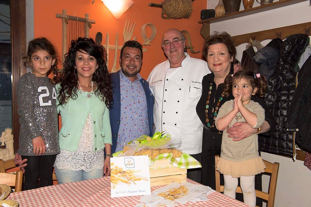 Pasta van de familie Masciarelli