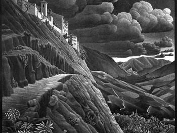 Kunstfestival 'Prospettive distorte' in Castrovalva: in de voetsporen van Escher