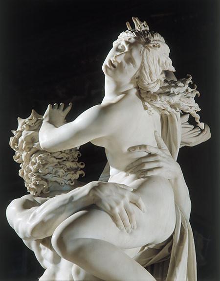 'De roof van Proserpina' van Bernini (Villa Borghese, Rome)