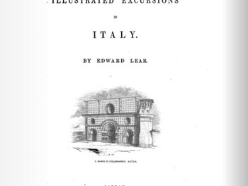 Deel 1 Feuilleton Edward Lear - Illustrated Excursions in Italy