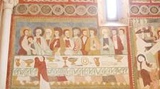 Eenbijzondere ontmoetingbij de Santa Maria adCryptas in Fossa