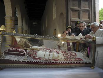Celestinus V: de paus van 'il gran rifiuto'