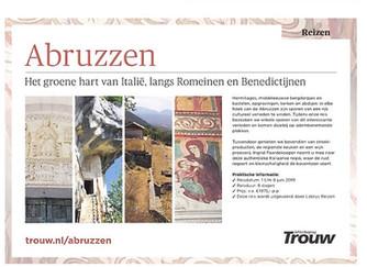 Met dagblad Trouw naar Abruzzo