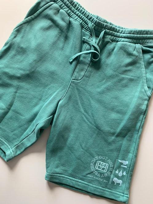 Mint Green Sweat Shorts