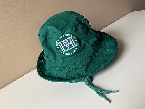 OHMY Bucket Hat -Dark Green
