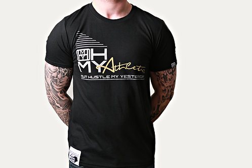 The answer, black OHMY t-shirt