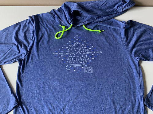 Let Your Game Do The Talking - Light Hoodie
