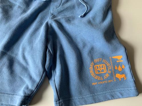 Light Blue Sweat Shorts