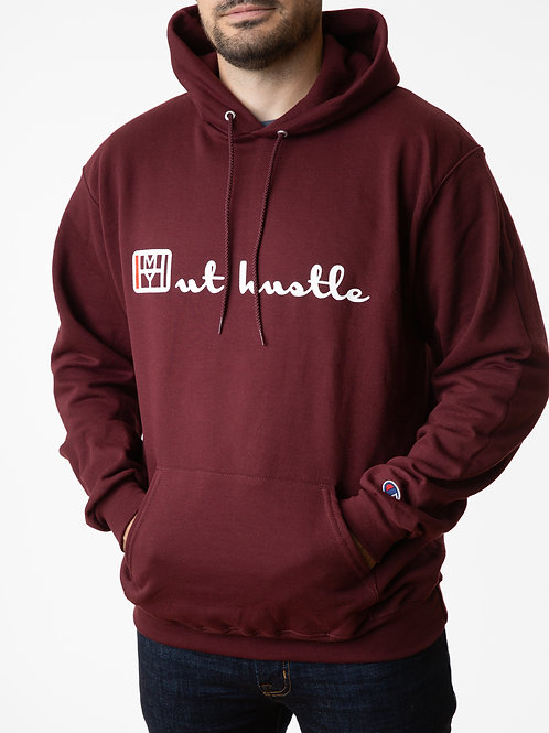 The Out Hustle Hood - Maroon