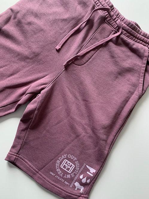 Maroon Sweat Shorts