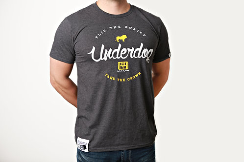 The underdog t-shirt, by OHMY, beat the odds