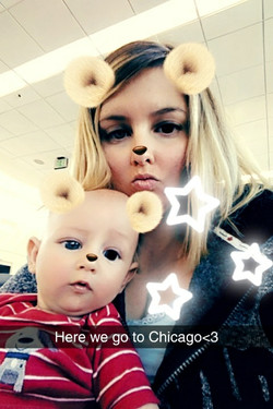 20min wait on the tarmac, should be fun with a 13week old baby!🛩👶