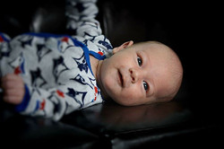 Did a little _one month_ photo shoot with Nicholas, man do I see Attley in this boy! It's nuts! #loo