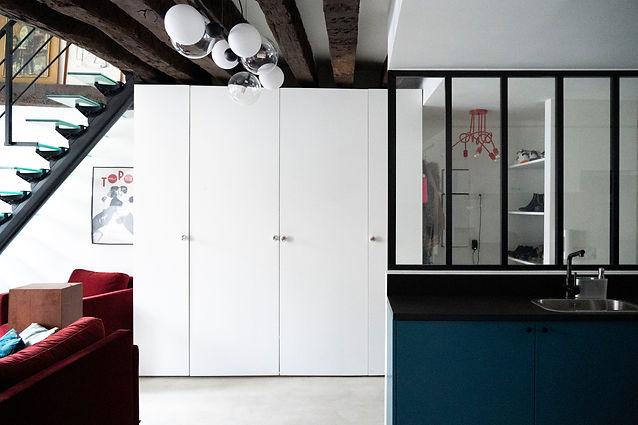 rénovation appartement paris cuisine