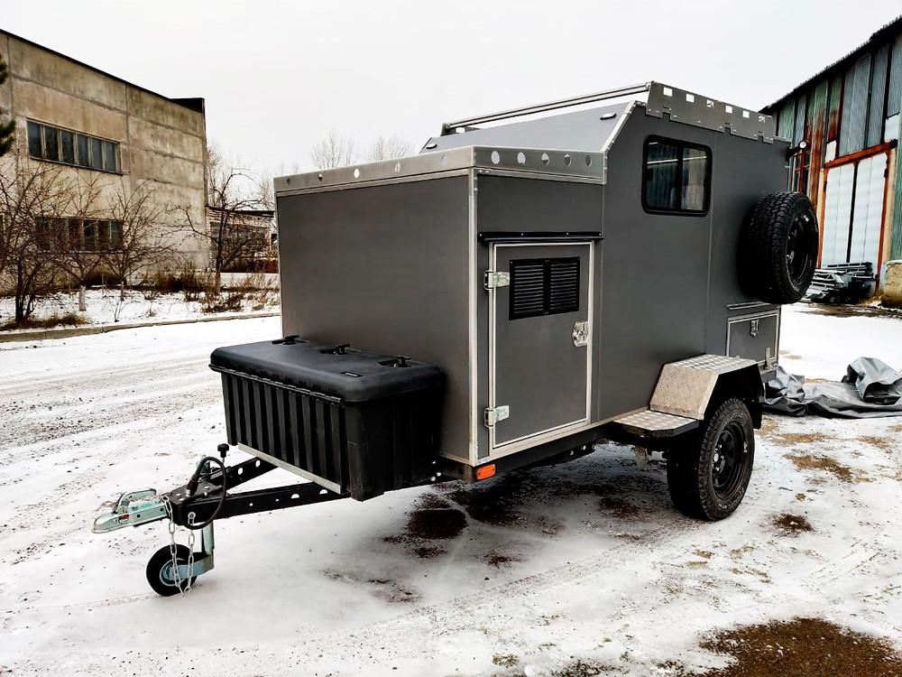 Внедорожный прицеп кемпер для охотника на базе прицепа «Чеглок» | Дом на колёсах от производителя Лаггар ПРО