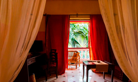 Privat room for rent in Goa Papa Jolly