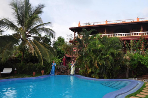 Guest house in Goa with swimming pool Papa Jolly