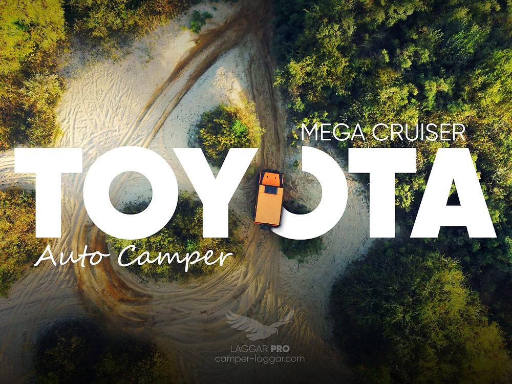 Toyota Mega Cruiser автодом кемпер от Лаггар Про