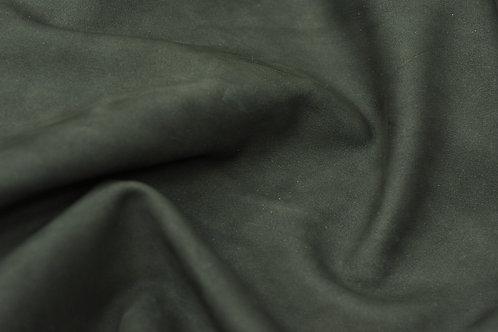 Кожа Нубук гидрофобный Темно-синий