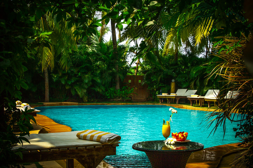 Super luxury room in Goa with swimming pool Papa Jolly