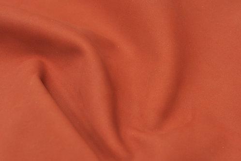 Натуральная кожа Нубук Красный