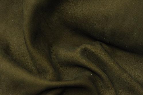Кожа Нубук 2х фазный гидрофобный Темно-коричневый