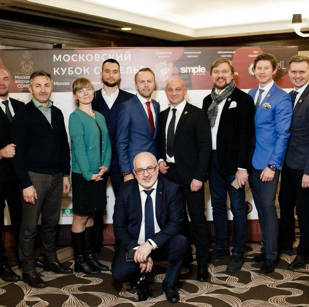 Финал Московского Кубка Сомелье