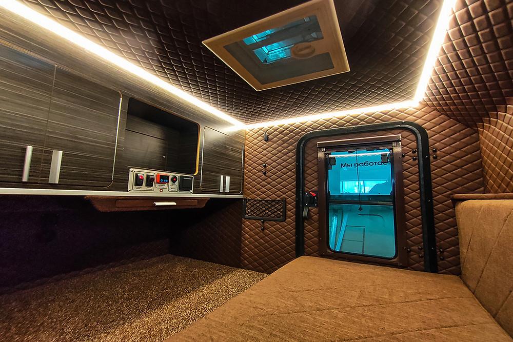 Прицеп кемпер Навигатор 2 от Лаггар ПРО | Салон дома на колесах