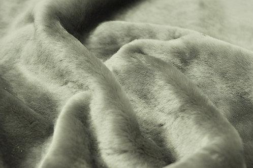 Мех овчина натуральный Австралийский меринос Сталь