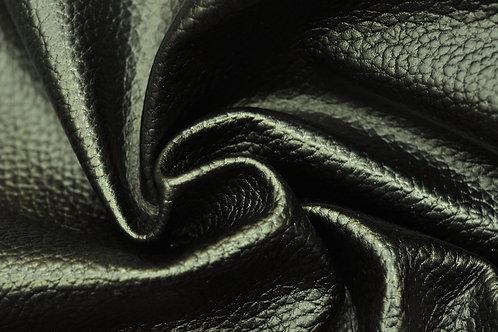 Кожа флотер Хром эластичный с разбивкой (плита ритм) Черный