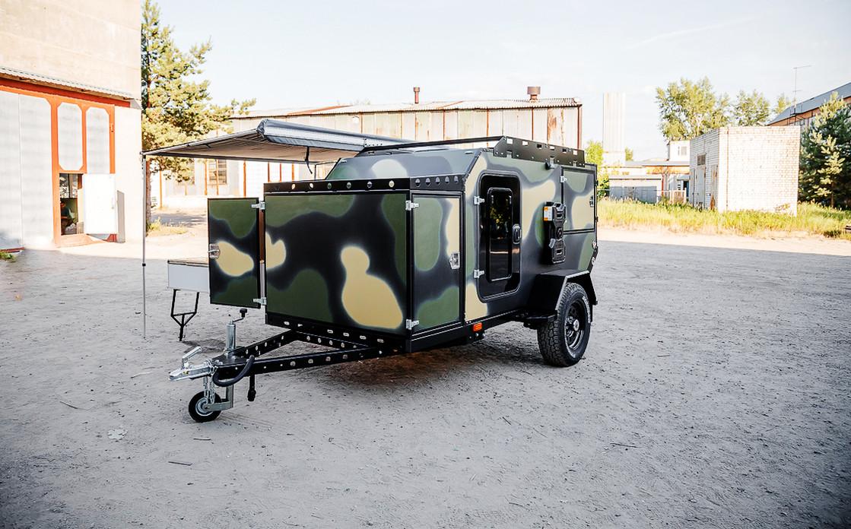 Прицеп кемпер - дом на колесах «ЧЕГЛОК»